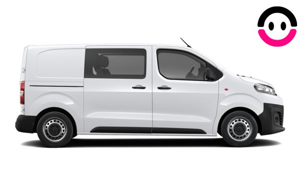 Rent a Car Castelldefels - Citroën Jumpy Doble Cabina Talla M